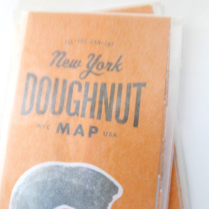 US IMPORT | New York  DOUGHNUT  MAP