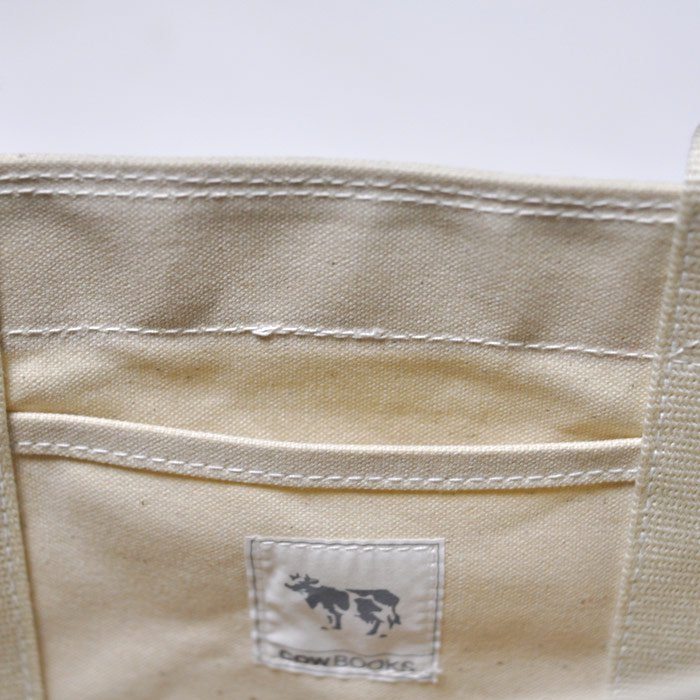 COWBOOKS   Buket Tote   Ivory