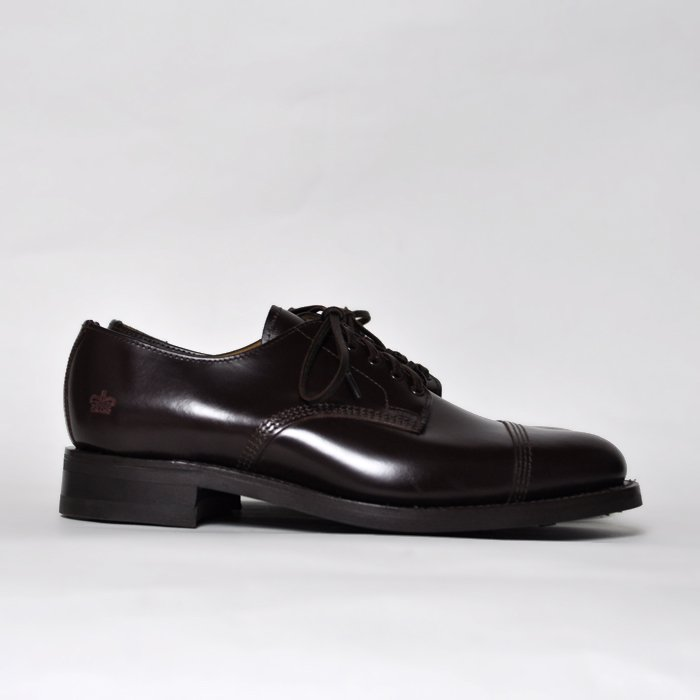 Sanders | Military Derby Shoes | Burgundy
