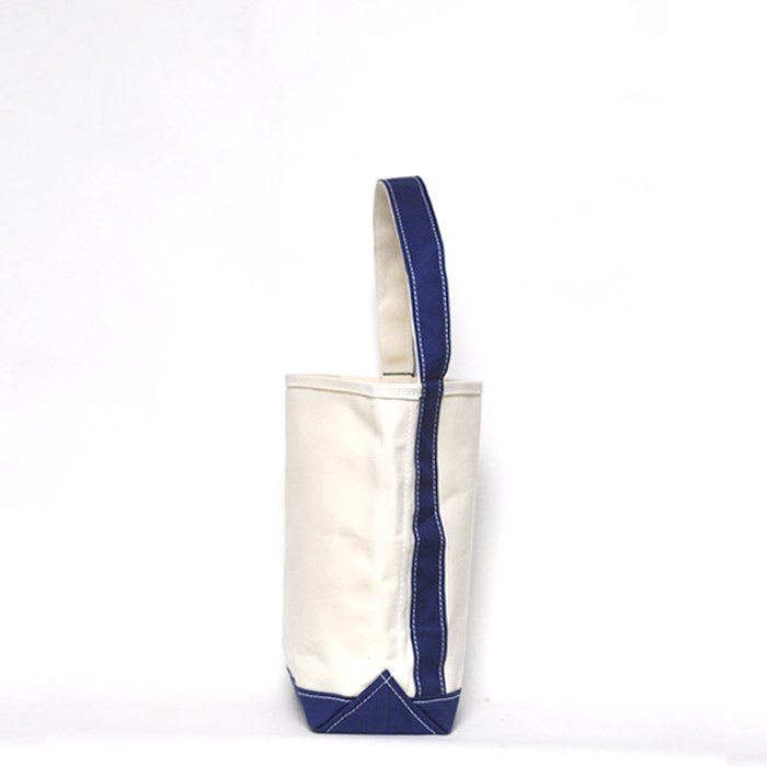 TEMBEA | BAGUETTE TOTE SMALL | NATURAL / NAVY