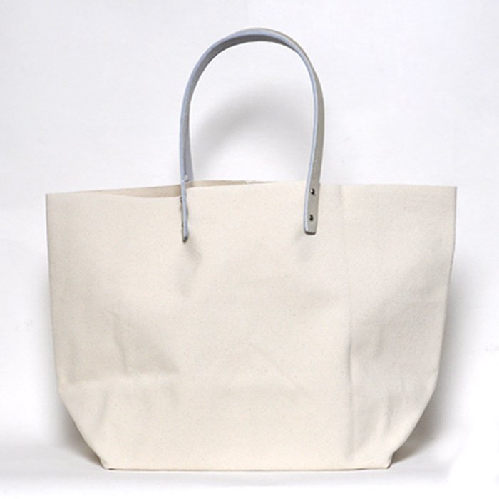 how to live | Tote Bag Pair Handle Medium | Ecru