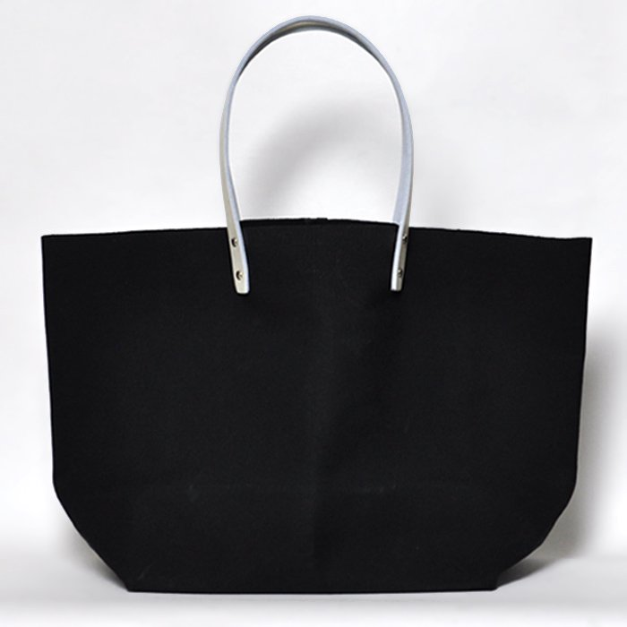 how to live | Tote Bag Pair Handle Medium | Black
