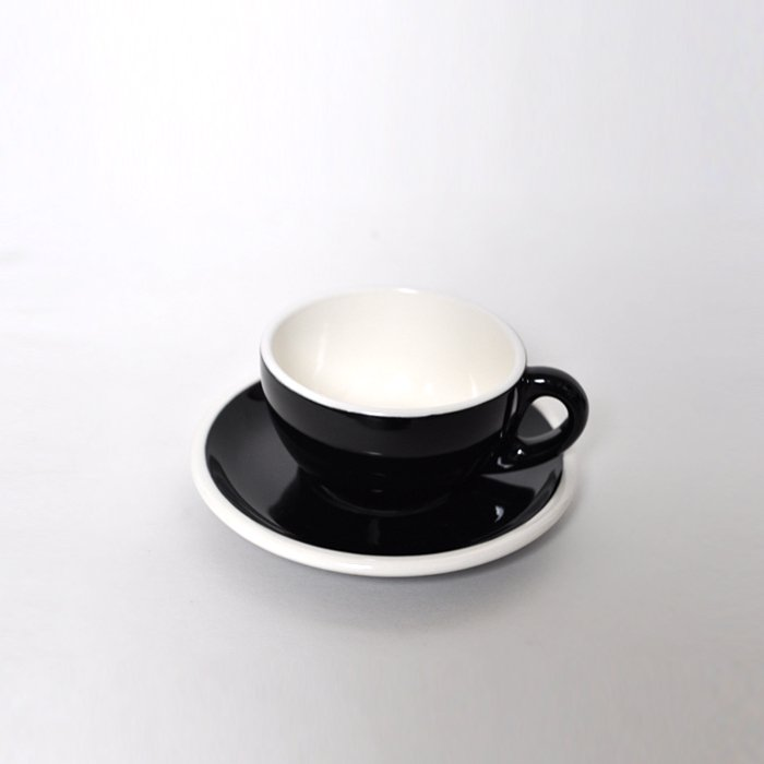 Landscape Products | Cup and Saucer | Black