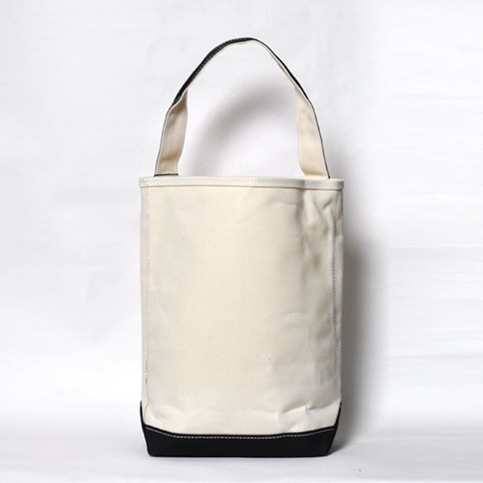 TEMBEA | BAGUETTE TOTE | NATURAL / BLACK
