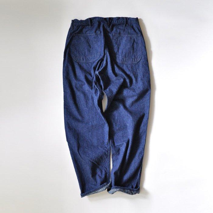 orSlow | Unisex | US Navy Utility Pants | Denim One Wash