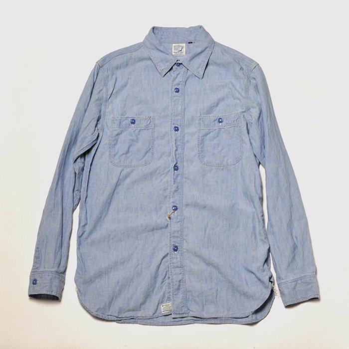 orSlow | Work Shirts | Denim Bleach