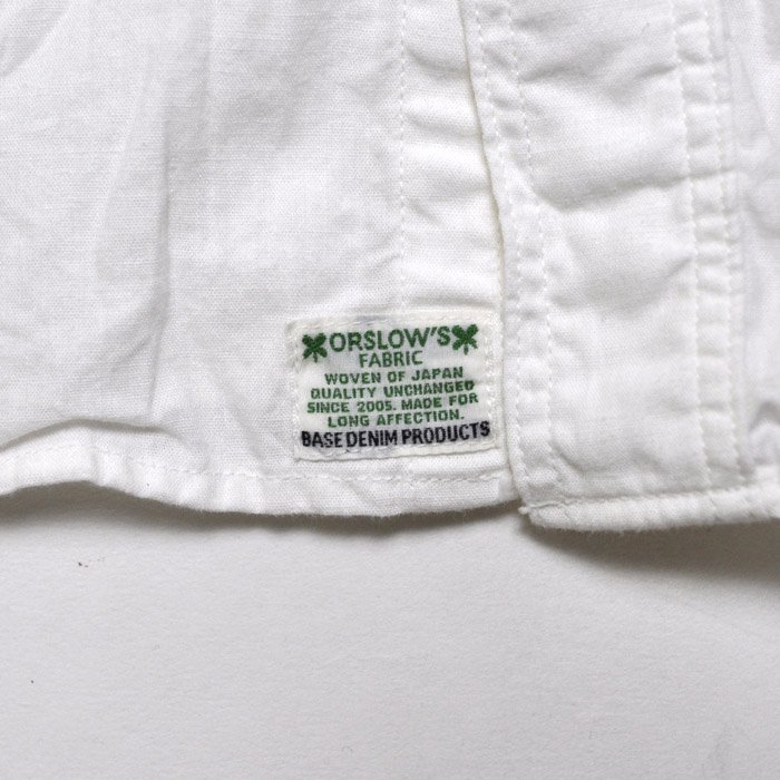 orSlow | Men | Work Shirts | White