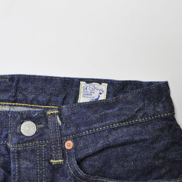 orSlow | Men | Standard Denim 105 | One Wash