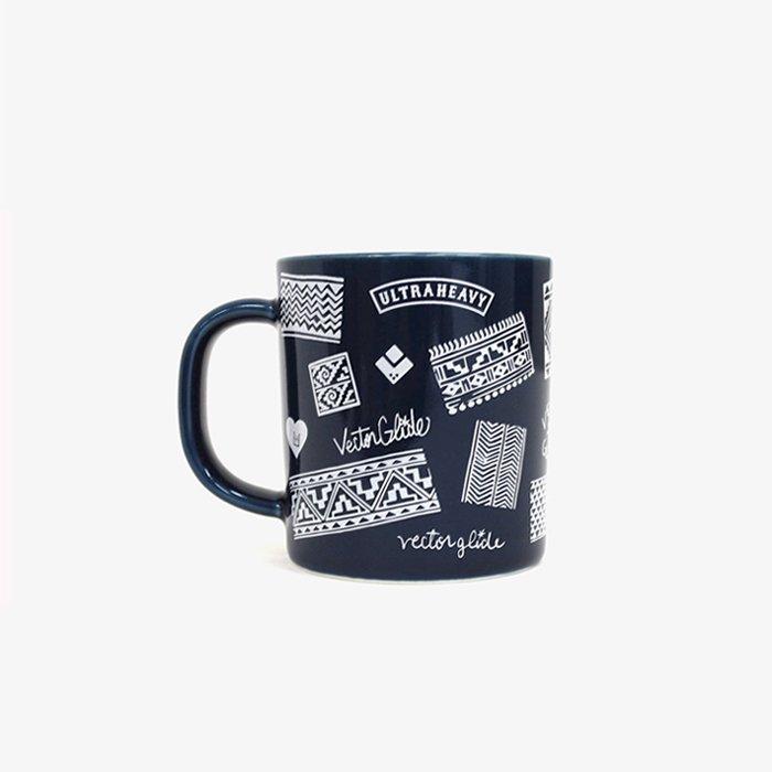 ULTRA HEAVY by 石川 顕 | VECTOR GLIDE 別注 MUG CUP | BLUE