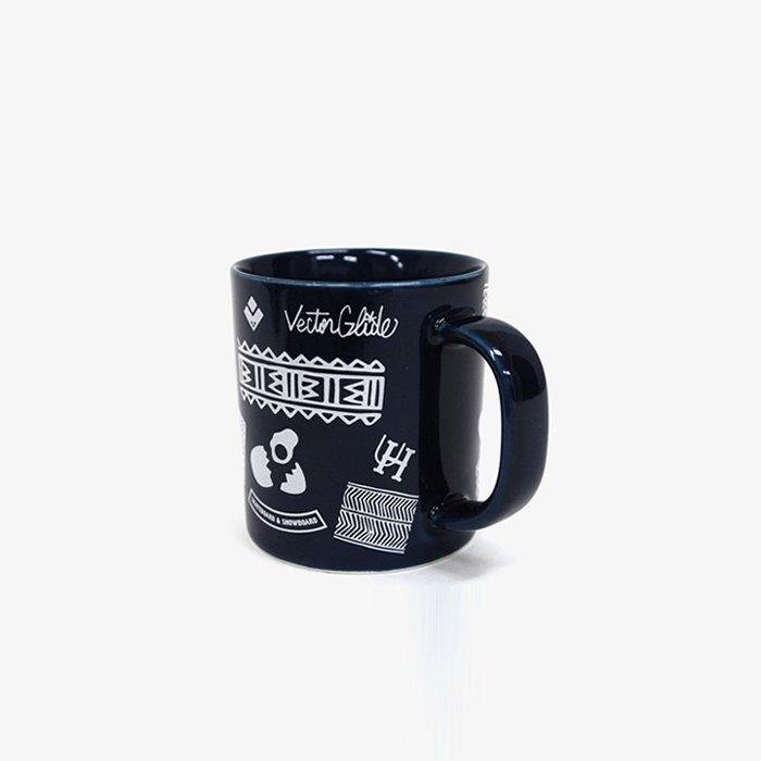 ULTRA HEAVY by 石川 顕 | VECTOR GLIDE 別注MUG CUP | BLUE