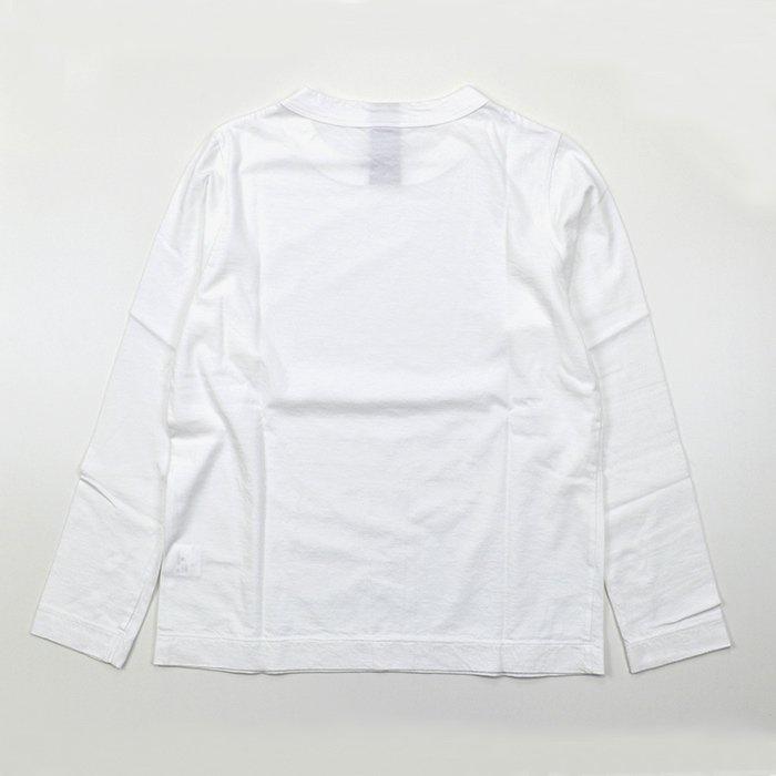 homspun | 30/1 天竺 長袖Tシャツ | サラシ