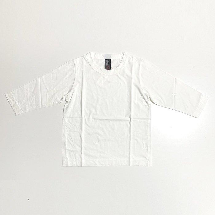 homspun | 30/1 天竺 七分袖Tシャツ | サラシ