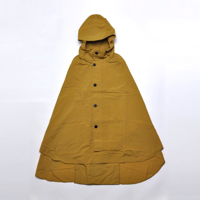 POSTALCO | Rain Cape | Yellow Ochre