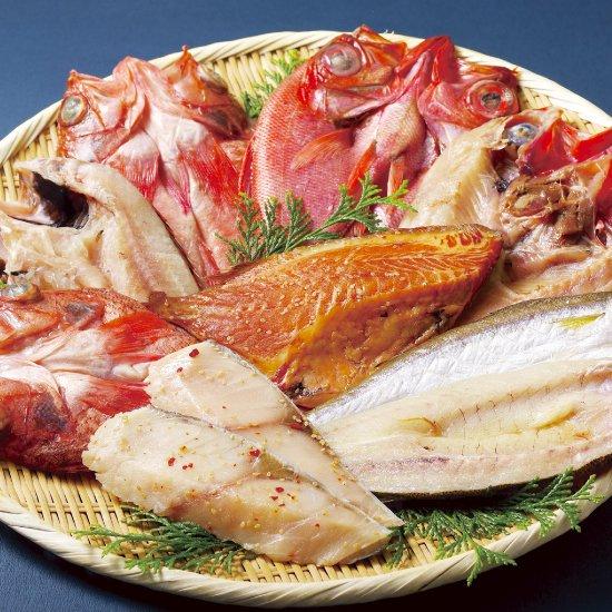 丸富の高級白身魚干物「百花繚乱」