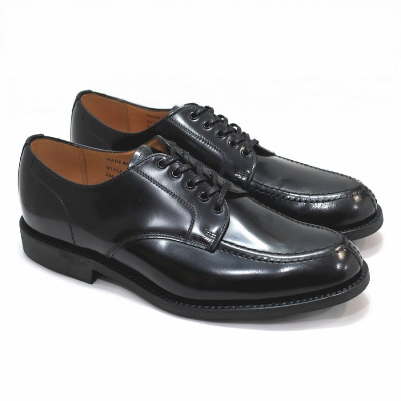 Military Apron Derby Shoe