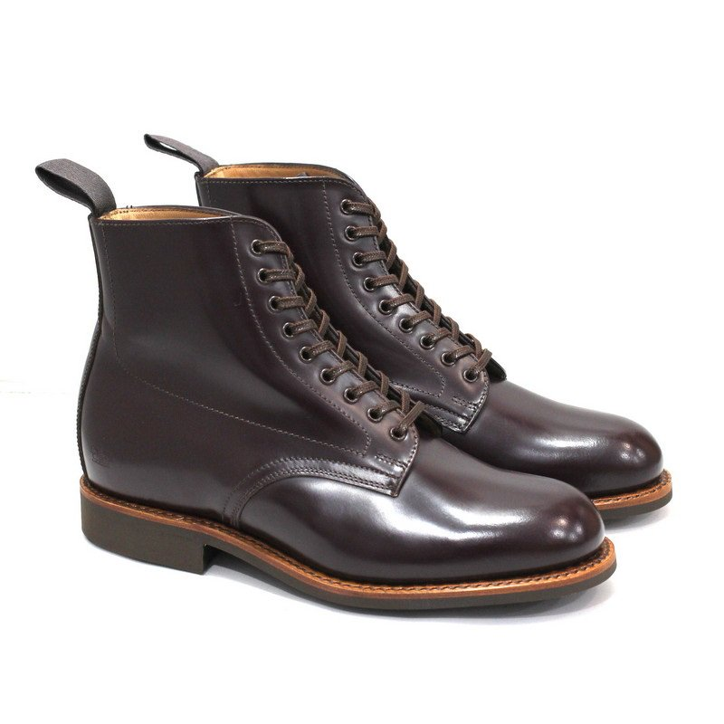 Female Military Derby Boot_T475