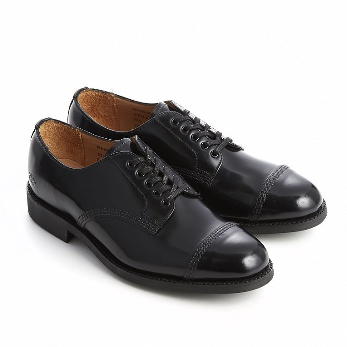 Female Military Derby Shoe_266