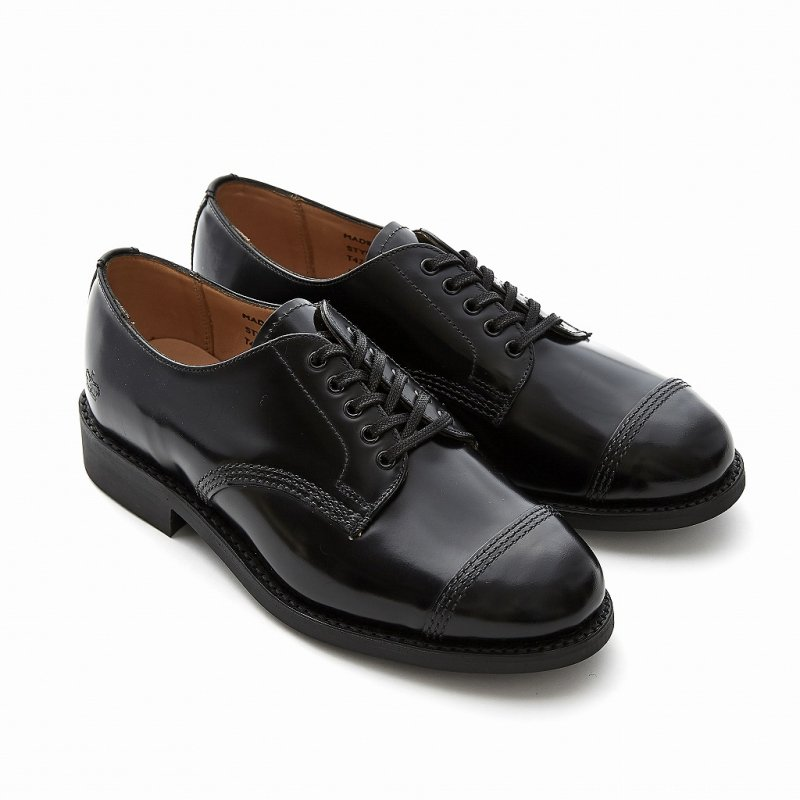 FEMALE MILITARY DERBY SHOE_T475