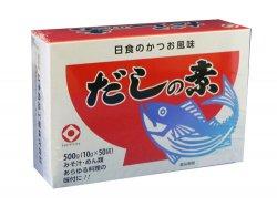 かつお風味だしの素10g×50袋(粉末)