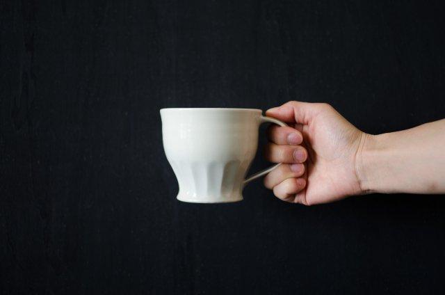 白磁 マグカップ 境知子