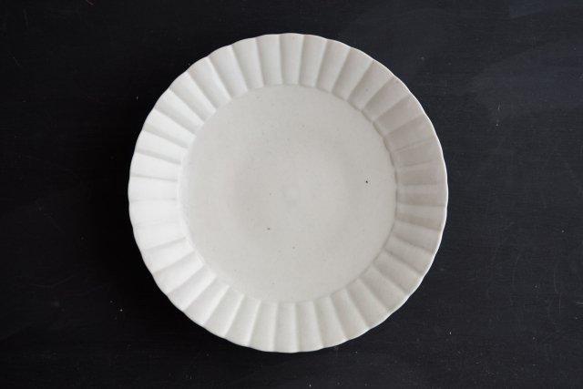 ひまわり皿 7.5寸 阿部春弥