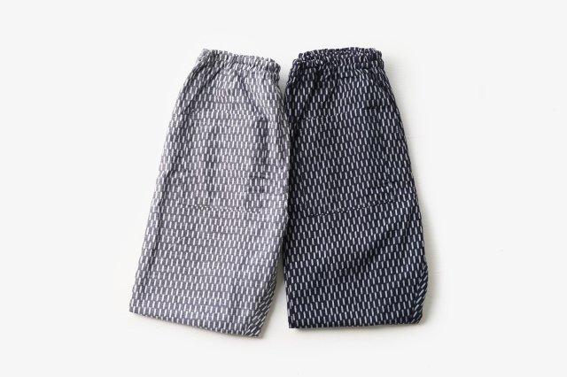 もんぺ 編み目 薄地 (2色) うなぎの寝床