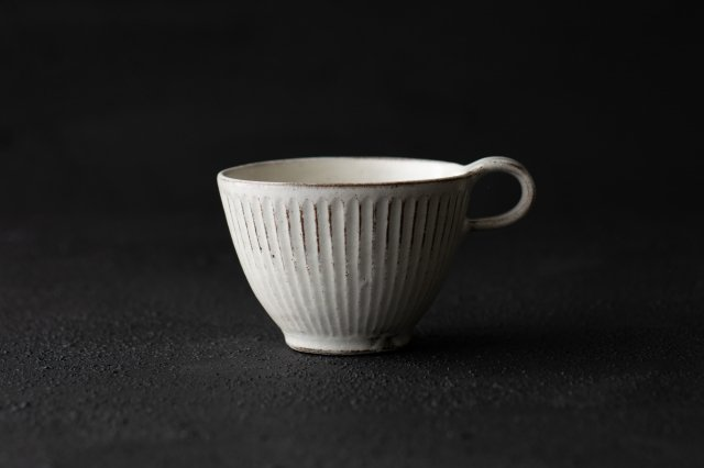 縞スープカップ カフェオレボウル 戸津圭一郎