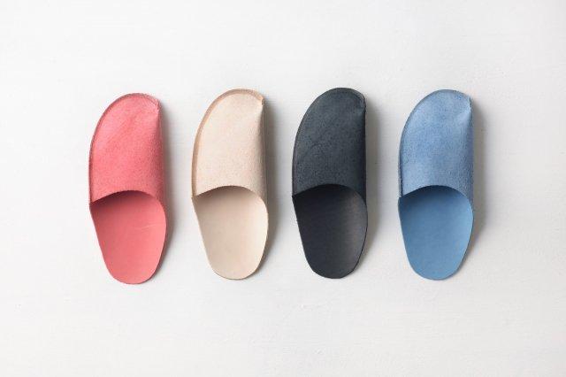 革のスリッパ(4色) トートーニー