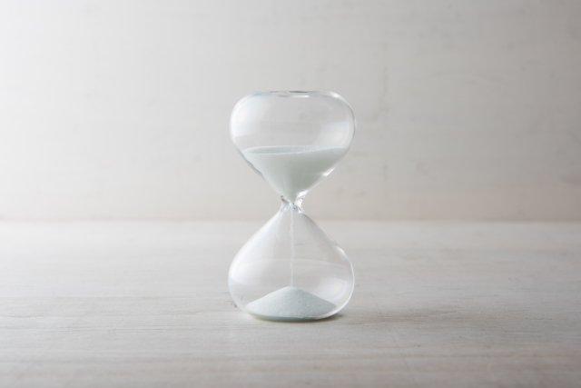 ガラス砂時計 廣田硝子