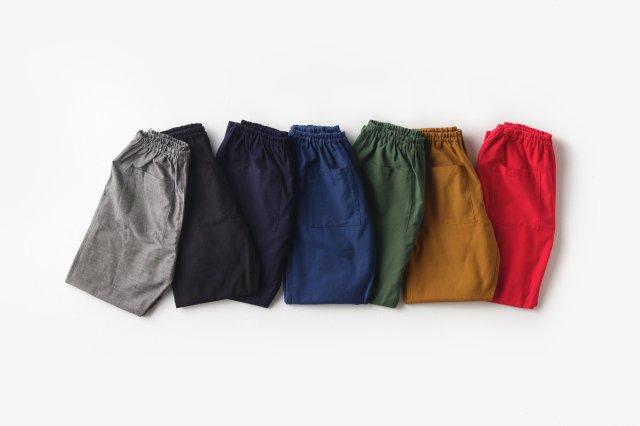 もんぺ 無地 薄地 (7色) うなぎの寝床