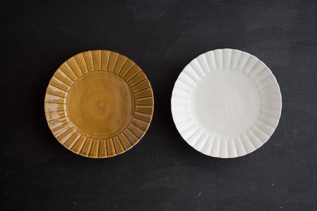 ひまわり皿 6.5寸 阿部春弥
