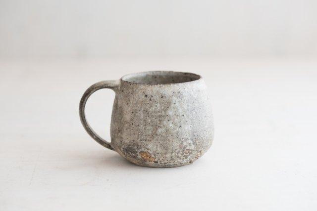 粉引きマグカップ 境知子