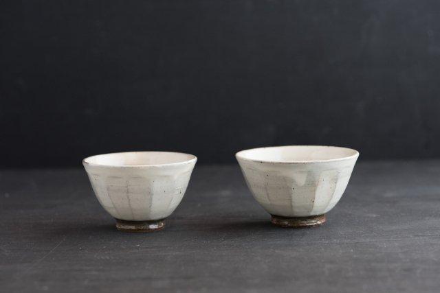 面取りツヤ飯碗 (お茶碗) 戸津圭一郎