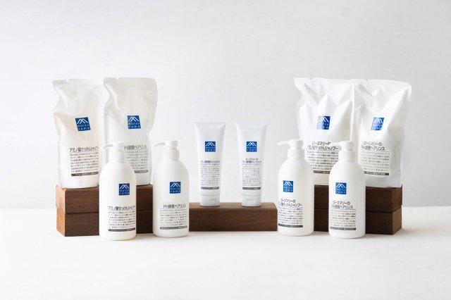 アミノ酸せっけん ヘアケアシリーズ M-mark series 松山油脂
