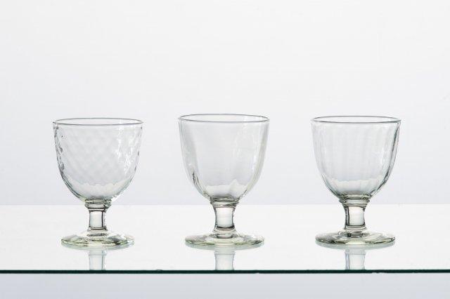 くるみガラス シードルグラス ガラス工房 橙