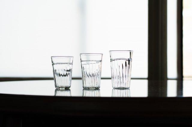 くるみガラス モールタンブラー ガラス工房 橙