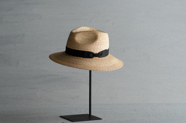 帽子 細麦555フェドラー8 石田製帽