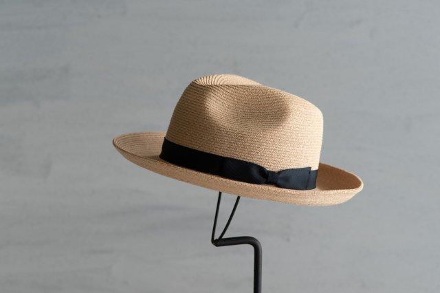 帽子 ラフィアブレードフェドラー7 石田製帽