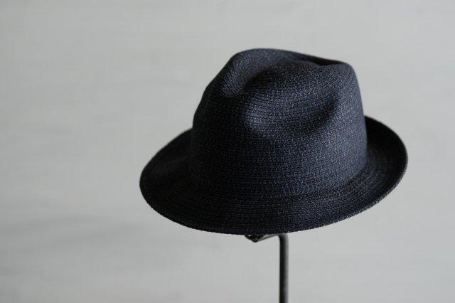 帽子 デニムブレードフェドラー6 石田製帽