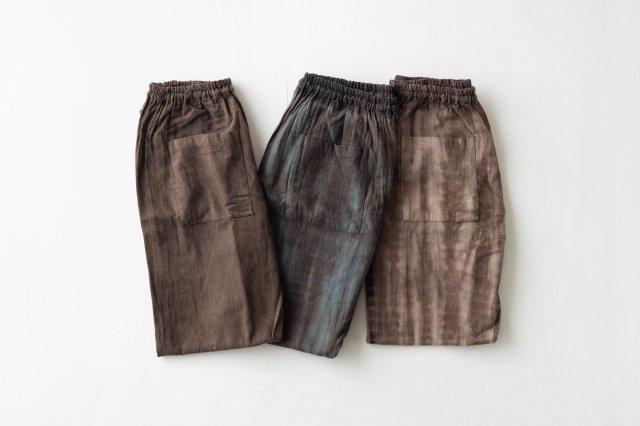 産地コラボもんぺ 原絹織物 うなぎの寝床