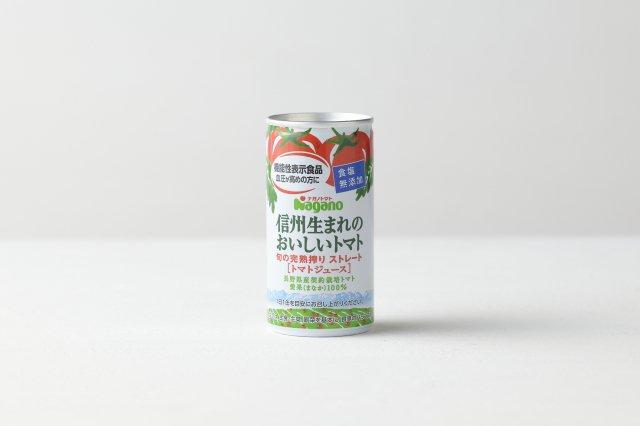 【30本入ケース】 信州生まれのおいしいトマト 食塩無添加 ナガノトマト