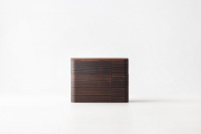 うるしの弁当箱(拭き漆) 重箱 杉の木クラフト