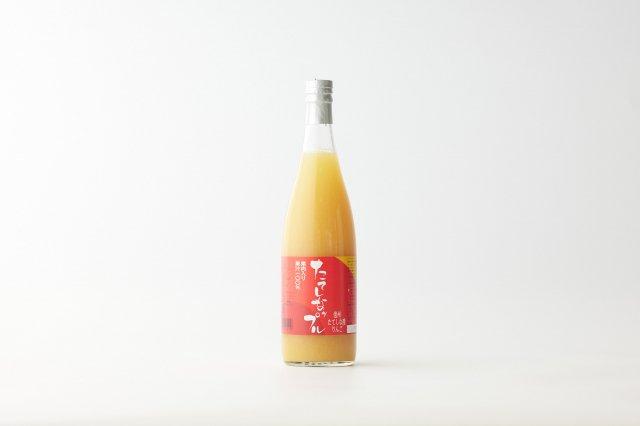 【12本入ケース】 果肉入りりんごジュース ふじ大瓶720ml  たてしなップル
