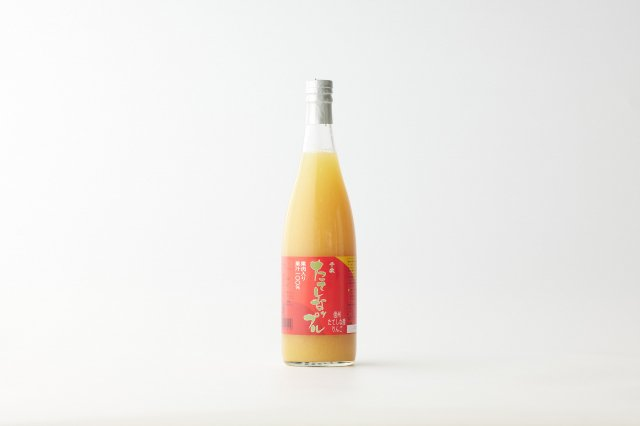 【12本入ケース】 果肉入りりんごジュース 千秋大瓶720ml  たてしなップル