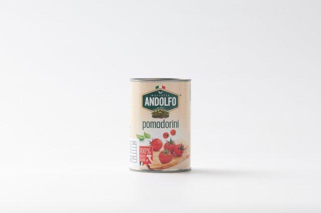 【24缶入ケース】 イタリア産 ミニトマト缶詰 アンドルフォ
