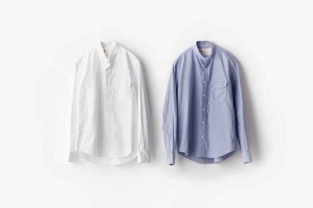 h.b スタンドカラーシャツ オックスフォード classico(クラシコ)