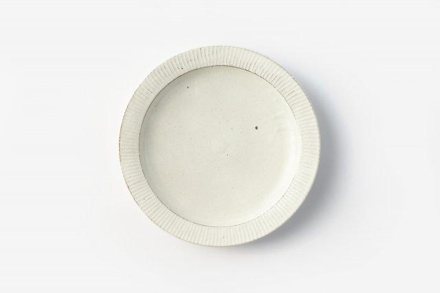 鎬 8寸カレー皿 戸津圭一郎