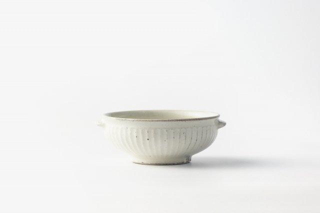 鎬 スープ鉢(両耳) 戸津圭一郎