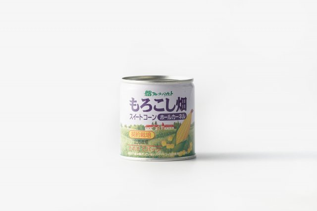 【12缶入】 コーン缶詰 水煮 フルーツバスケット