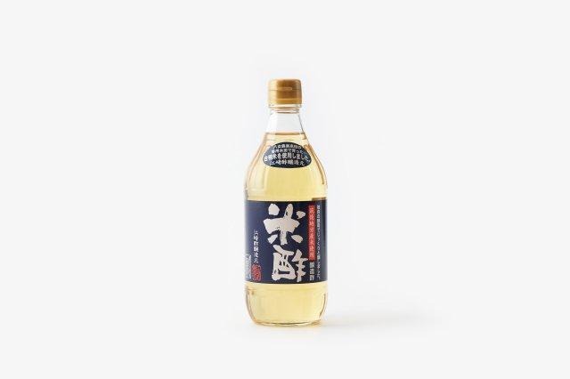 無農薬合鴨米 米酢 江崎酢醸造元
